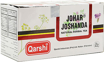 Qarshi Johar Joshanda Natural Herbal Tea - For Cold and Cough