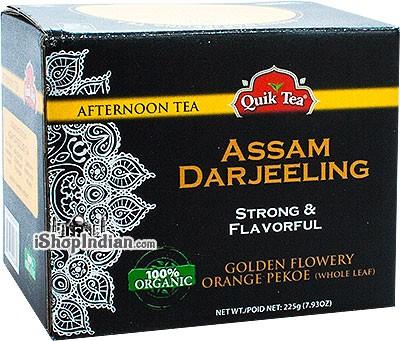 Quik Tea Organic Assam Darjeeling Tea