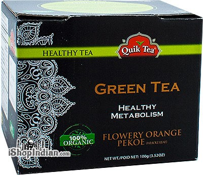 Quik Tea Organic Green Tea