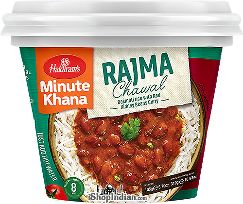 Haldiram's Instant Rajma Chawal - Basmati Rice with Red Kidney Beans Curry