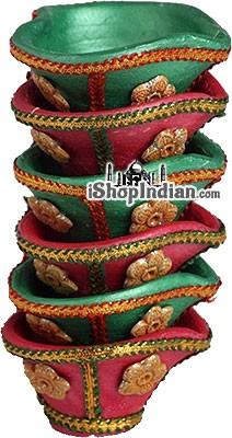 Rajnigandha Diya - 6 Pack