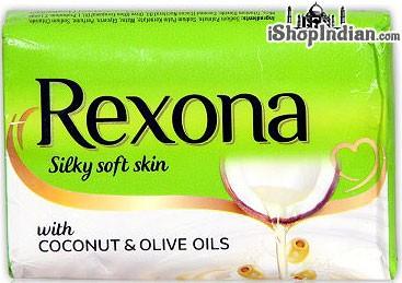 Rexona Silky Soft Skin Soap with Coconut & Olive Oils