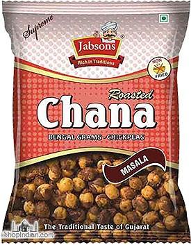 Jabsons Roasted Chana - Spicy Masala