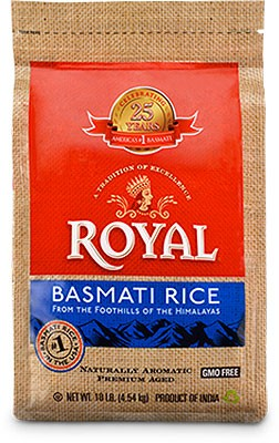 Royal Basmati Rice - 10 lbs