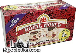 Royal World Ceylon's Finest Black Tea Bags - 50 bags