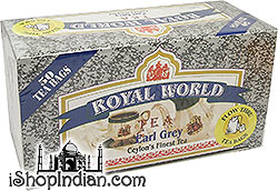 Royal World Ceylon's Finest Earl Grey Tea Bags - 50 bags