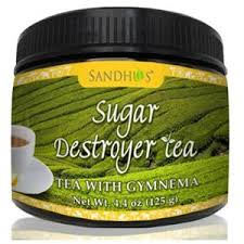 Sugar Destroyer Tea (Tea with Gymnema for healthy blood sugar)