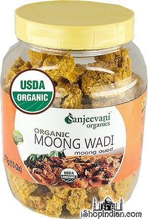 Sanjeevani Organic Moong Wadi