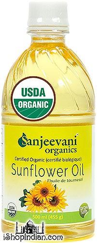 Sanjeevani Organic Sunflower Oil - 500 ml
