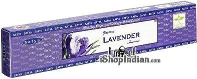 Satya Supreme Lavender Incense - 15 gms