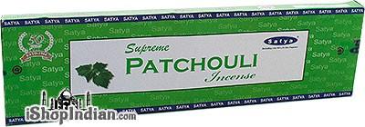 Satya Supreme Patchouli Incense - 50 gms
