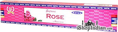Satya Supreme Rose Incense - 15 gms