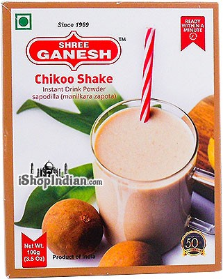 Shree Ganesh Chikoo Shake Instant Drink Powder