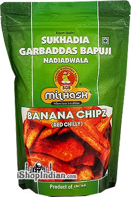 Sukhadia Garbaddas Bapuji Banana Chipz (Red Chilly)
