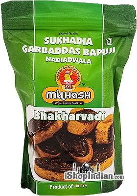 Sukhadia Garbaddas Bapuji Bhakharvadi - Spicy Rolls