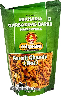 Sukhadia Garbaddas Bapuji Potato Sticks Hot - Farali Chevdo (Hot)