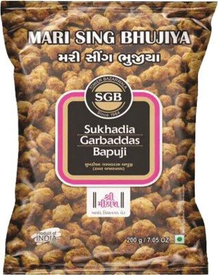 Sukhadia Garbaddas Bapuji Mari Sing Bhujiya (Coated Black Pepper Peanuts)