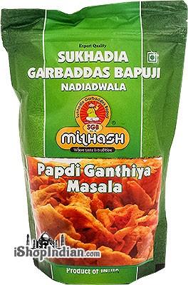 Sukhadia Garbaddas Bapuji Papdi Ganthiya - Masala (Spicy Lentil Chips)