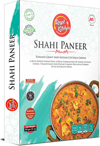 Regal Kitchen Shahi Paneer (Ready-to-Eat) - BUY 2 GET 1 FREE!