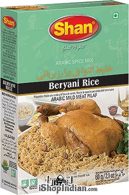 Shan Beryani Rice (Arabic Spice Mix)
