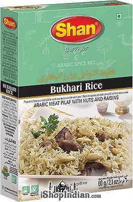 Shan Bukhari Rice (Arabic Spice Mix)