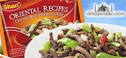 Shan Oriental Recipes - Chinese Beef / Chicken Chilli Spice Mix