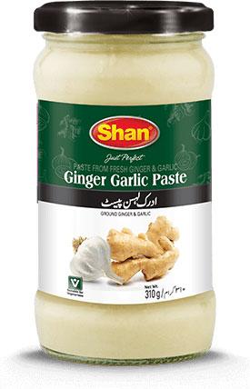 Shan Ginger-Garlic Paste