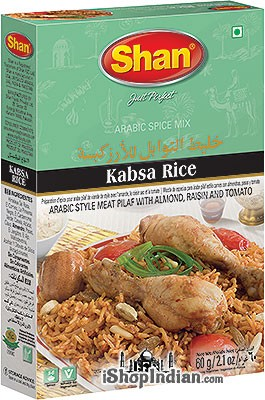 Shan Kabsa Rice (Arabic Spice Mix)