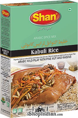 Shan Kabuli Rice (Arabic Spice Mix)