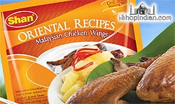Shan Oriental Recipes - Malaysian Chicken Wings Spice Mix