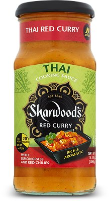 Sharwood's Thai Red Curry Simmer Sauce