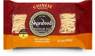 Sharwood's Chinese Medium Egg Noodles