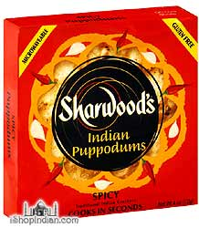 Sharwood's Indian Pappodums - Spicy