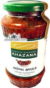 Sanjeev Kapoor's Khazana Fresh Turmeric Pickle