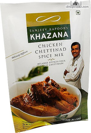 Sanjeev Kapoor's Khazana Chicken Chettinad Spice Mix