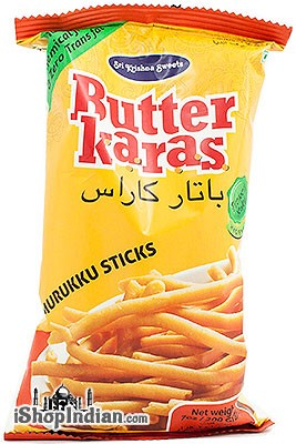 Sri Krishna Sweets Butter Karas - Murukku Sticks