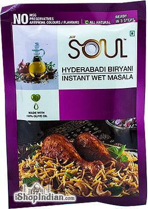 Soul Hyderabadi Biryani Instant Wet Masala - BUY 2 GET 1 FREE!