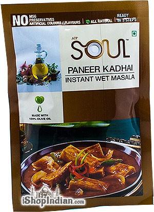 Soul Paneer Kadhai Instant Wet Masala - BUY 2 GET 1 FREE!
