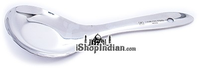 Serving Spoon - Flat Ladle (Stainless Steel)