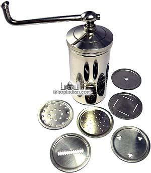 Sev Sancha / Noodle Extruder (Stainless Steel)