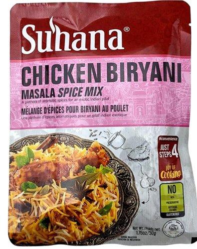 Suhana Chicken Biryani Masala Spice Mix