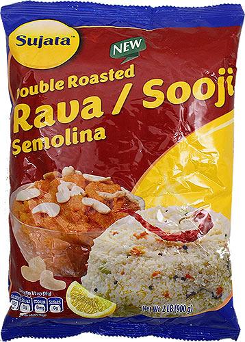 Sujata Double Roasted Rava / Sooji - Semolina