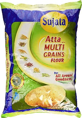 Sujata Atta with Multigrains Flour - 4 lbs