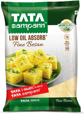 Tata Sampann Low Oil Absorb FINE Besan