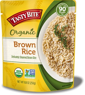 Tasty Bite Organic Brown Rice (Ready-to-Eat)
