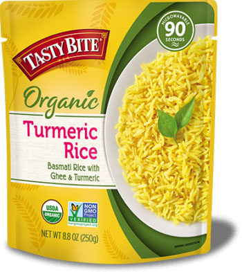 Tasty Bite Organic Turmeric Rice (Ready-to-Eat)