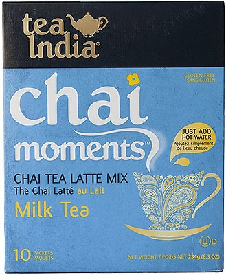 Tea India Chai Moments - Chai Tea Latte Mix - Milk Tea