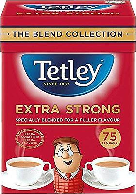 Tetley Extra Strong Premium Black Tea Bags