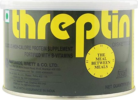 Threptin Diskettes - High-Calorie Protein Supplement Biscuits