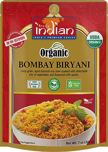 Truly Indian Organic Bombay Biryani (Vegan) - (Ready-to-Eat)